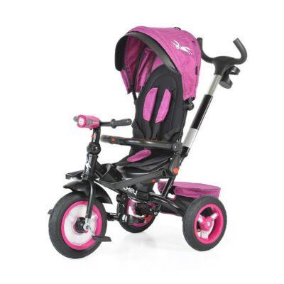 Τρίκυκλο Ποδήλατο με Μουσική & Air Wheels - ΒΥΟΧ Jockey purple