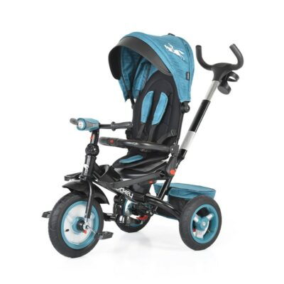Τρίκυκλο Ποδήλατο με Μουσική & Air Wheels - ΒΥΟΧ Jockey turquoise