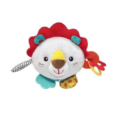 Λούτρινη Μπάλα - Kikka Boo Leo The Lion