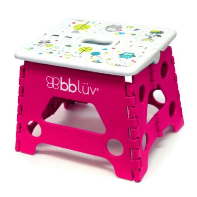 Αναδιπλούμενο Σκαλάκι - Bbluv Step Pink