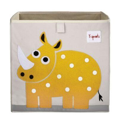 Κουτί Αποθήκευσης Παιχνιδιών - 3 sprouts Storage Box Rhino