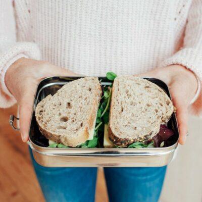 Ανοξείδωτο δοχείο φαγητού με κούμπωμα 800ml - X-TREME BABY Lunch Box Inox