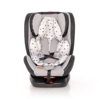 Κάθισμα Αυτοκινήτου - Lorelli Car Seat 360° NEBULA Isofix 0-36KG Grey CROWNS