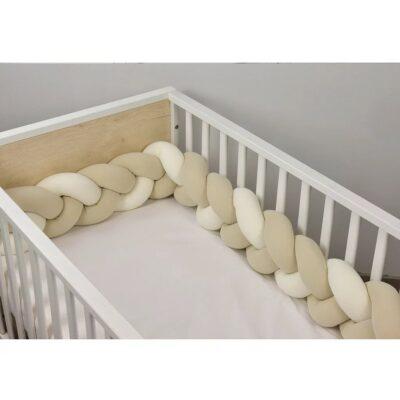 Πάντα-Πλεξούδα - Baby Oliver Εκρού-Μπεζ 200×18