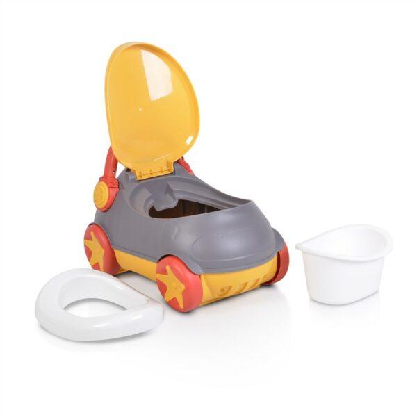 Γιογιό με Κάθισμα και Καπάκι - Cangaroo Baby potty Parkar grey