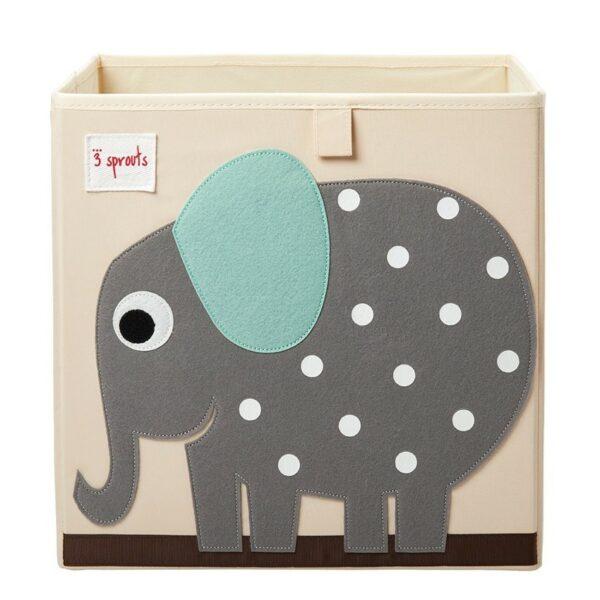 Κουτί Αποθήκευσης Παιχνιδιών - 3 sprouts Storage Box Elephant