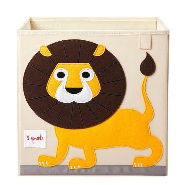 Κουτί Αποθήκευσης Παιχνιδιών - 3 sprouts Storage Box Lion