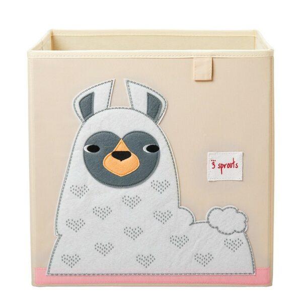 Κουτί Αποθήκευσης Παιχνιδιών - 3 sprouts Storage Box Llama