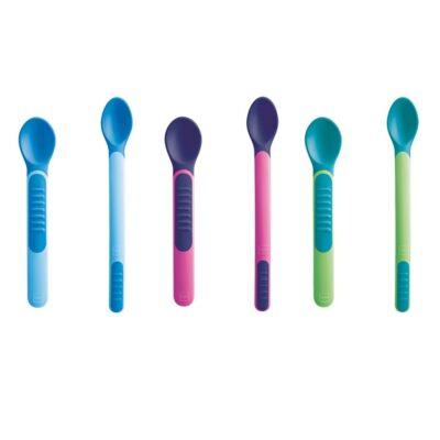 Θερμοευαίσθητα Κουταλάκια με Θήκη 2τμχ. ΜΑΜ - Heat Sensitive spoons & Cover