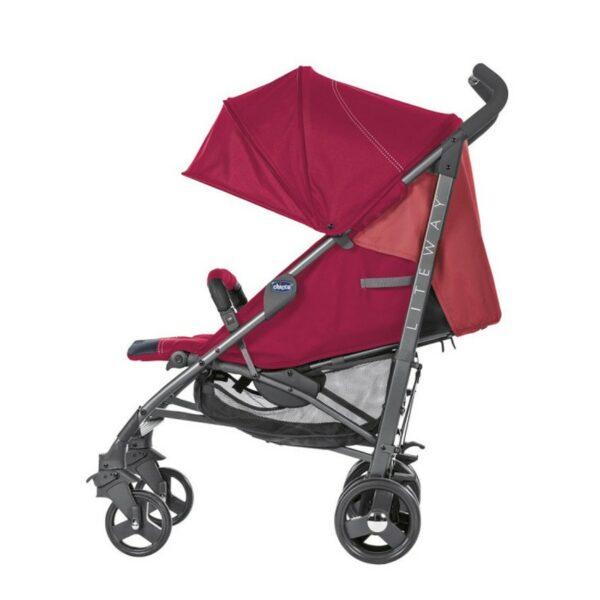 Καρότσι βόλτας - Chicco Lite Way 3 Top Red Berry