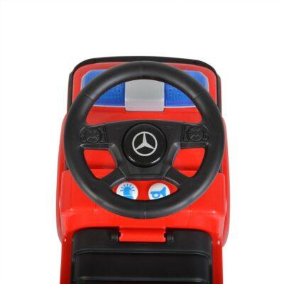 Ποδοκίνητο Αυτοκινητάκι - MONI Ride on Mercedes Antos 657 Fire Red