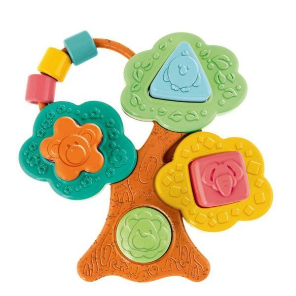 Chicco Εκπαιδευτικό Παιχνίδι Το Δέντρο της Ζωής με Σχήματα ECO+ Y02-10493-00