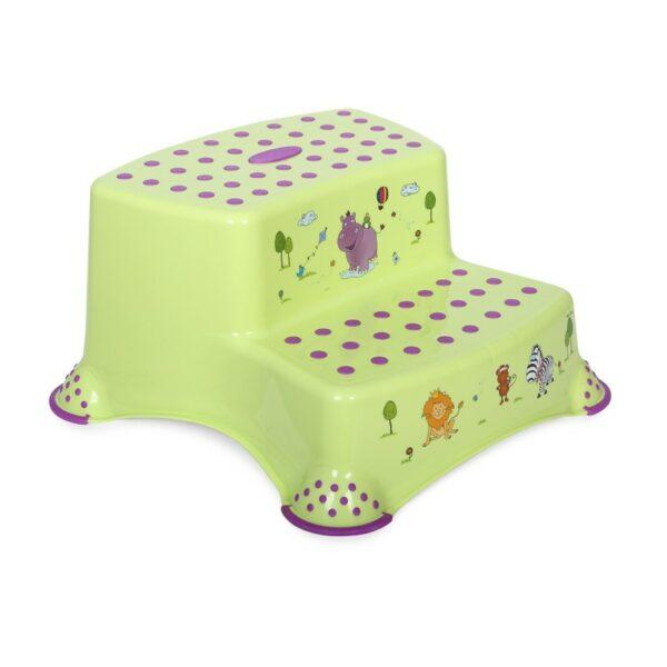 Βοηθητικό Διπλό Σκαλοπάτι Μπάνιου - Lorelli HIPPO Green