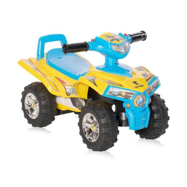 """Παιδική Ποδοκίνητη Γουρούνα - Lorelli Ride On Car """"ATV LORELLI"""" Yellow"""