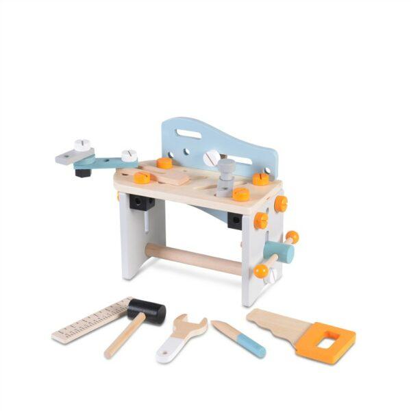 Ξύλινος Πάγκος με Εργαλεία - MONI Toys 1182