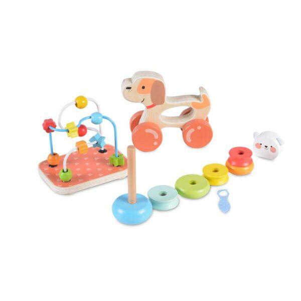 Ξύλινα Παιχνίδια Δραστηριότητας - MONI Wooden toys set 2203
