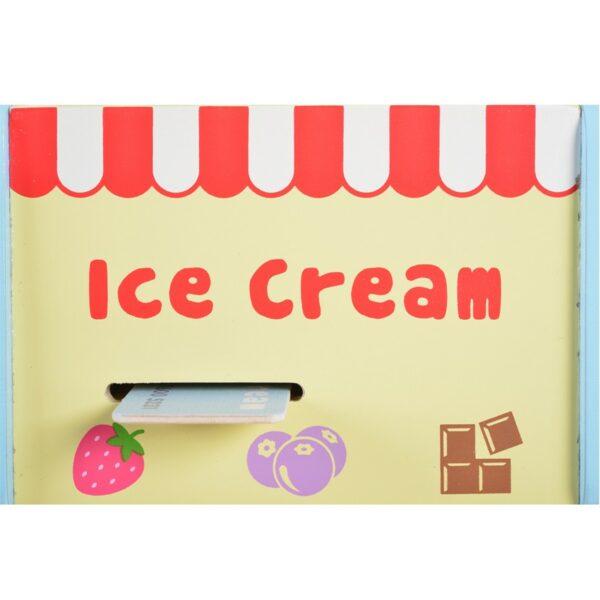 Ξύλινη Μηχανή Παγωτού - MONI Toys 4320