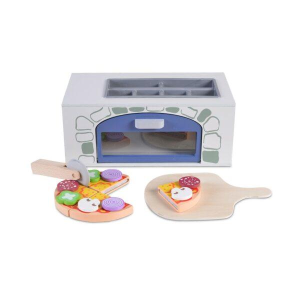 Ξύλινος φούρνος Πίτσας - MONI Wooden pizza oven 4333