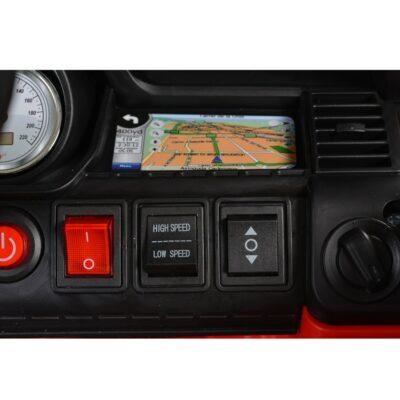 Ηλεκτροκίνητο Jeep 12V – MONI BO Squad Red JC002