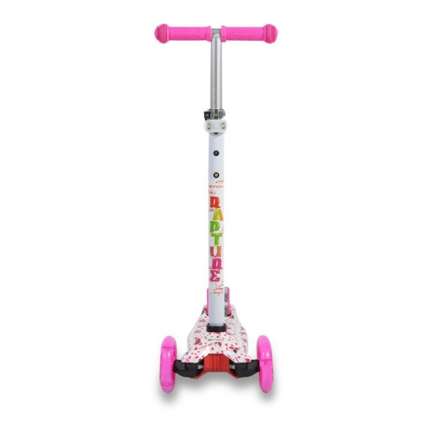 Πατίνι Scooter με Φωτιζόμενες Ρόδες - BYOX Rapture White
