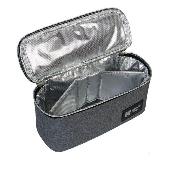 Τσάντα αποθήκευσης Φαγητού 19x10x7εκ. - Kikka Boo Foody Dark Grey