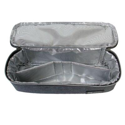Τσάντα αποθήκευσης Φαγητού 28x10x8εκ. - Kikka Boo Foody Dark Grey