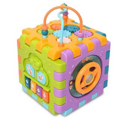 Κύβος Πολλαπλών Δραστηριοτήτων - Lorelli Activity Cube 6 face
