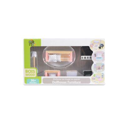 Ξύλινα Έπιπλα Σαλονιού - MONI Toys 4011