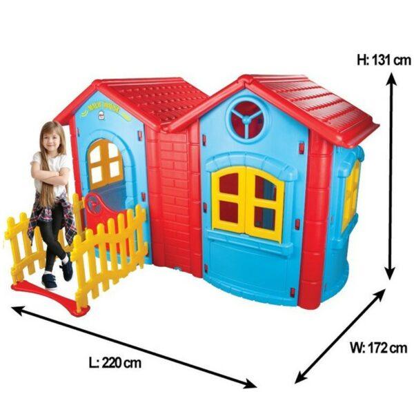 Σπιτάκι Κήπου - PILSAN Double magic house 06195