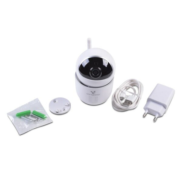 Ασύρματη κάμερα με κίνηση 360° - Cangaroo Wi-Fi/LAN Camera Hype