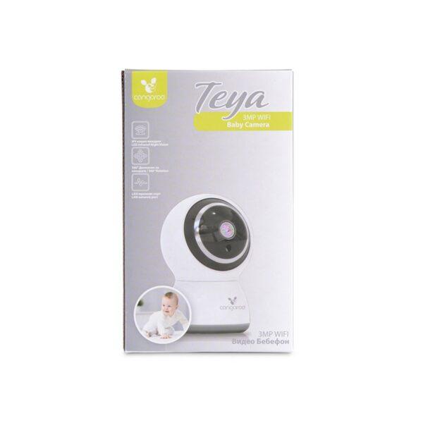 Ασύρματη κάμερα με κίνηση 360° - Cangaroo Wi-Fi/LAN Camera Teya