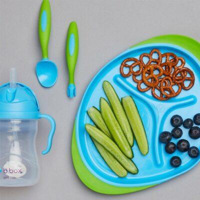 Παιδικό Σετ Φαγητού 3 τμχ. - B.Box Blue