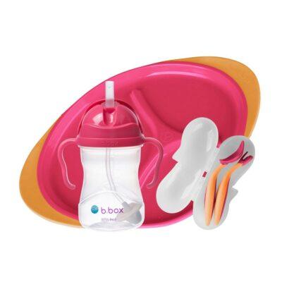 Παιδικό Σετ Φαγητού 3 τμχ. - B.Box Pink