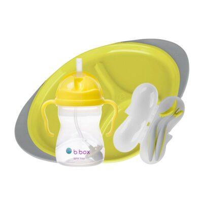 Παιδικό Σετ Φαγητού 3 τμχ. - B.Box Yellow