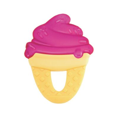 Chicco Δροσιστικός Κρίκος Οδοντοφυΐας Παγωτό Ροζ 4m+ 1τμχ
