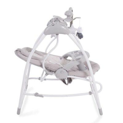 Βρεφική Κούνια - Ρηλάξ 2 σε 1 - Kikka Boo Mia Stella Grey