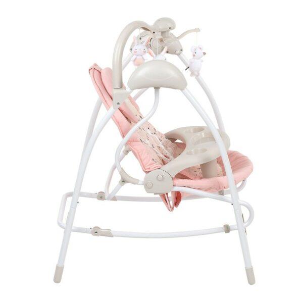 Βρεφική Κούνια - Ρηλάξ 2 σε 1 - Kikka Boo Mia Stella Pink