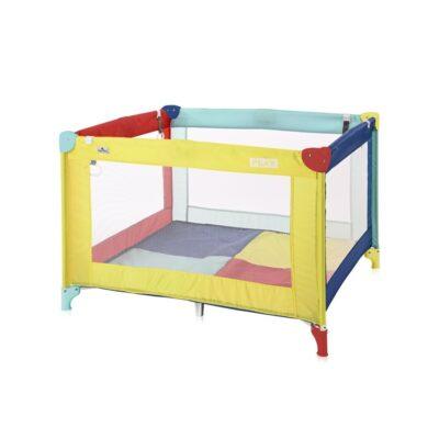 Τετράγωνο Παρκοκρέβατο - Lorelli Play Multicolor