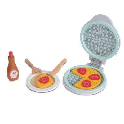 Ξύλινο Εκπαιδευτικό Παιχνίδι Μηχανή Βάφλας - MONI Toys 4343