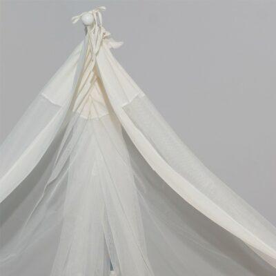 Κουνουπιέρα Κούνιας Μπεζ 180/510 – ABO Mosquito net Beige