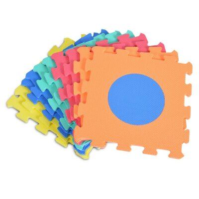 Πάζλ Δαπέδου 9τμχ - MONI Toys Mat 1043B3 Shape
