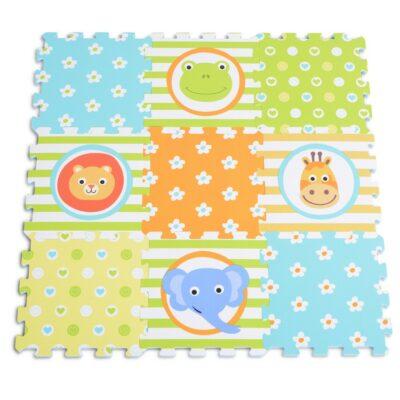 Πάζλ Δαπέδου 9τμχ - MONI Toys Mat Animal 3063