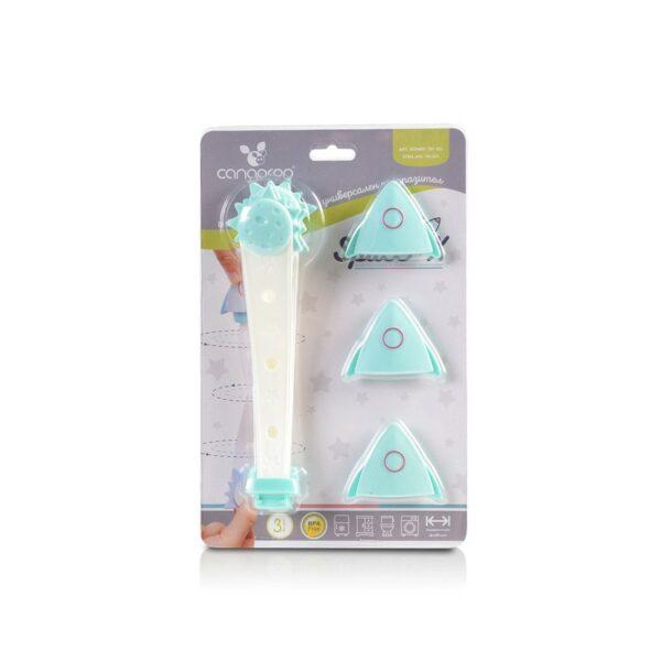 Πολυλειτουργική συσκευή κλειδώματος - Cangaroo Space-X turquoise