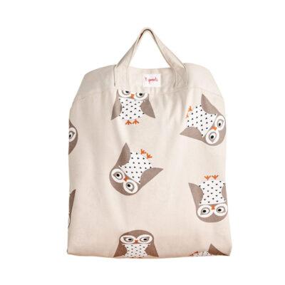 Στρώμα Παιχνιδιού & Τσάντα 2 σε 1 - 3 Sprouts Owl