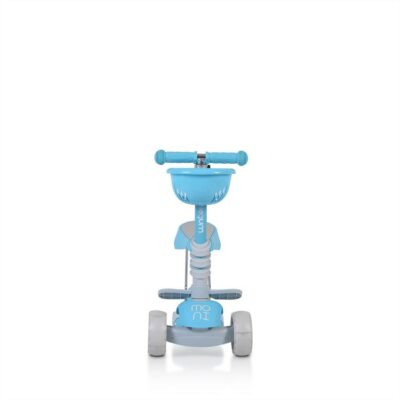 Παιδικό Πατίνι με κάθισμα - MONI Scooter Bubblegum Blue