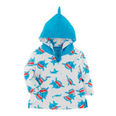 Zoocchini Swim Coverup UPF50+ Καρχαρίας