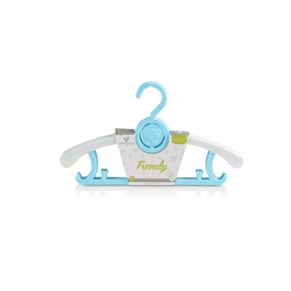 Παιδικές κρεμάστρες 5 τμχ - Cangaroo Trendy Blue