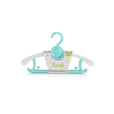 Παιδικές κρεμάστρες 5 τμχ - Cangaroo Trendy Mint
