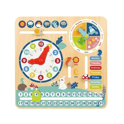 Ξύλινο Ημερολόγιο - Tooky Toy TF329