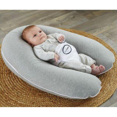 Μαξιλάρι Εγκυμοσύνης-Θηλασμού-Φωλιά Ύπνου 3 σε 1 - Candide Multirelax Etoiles Grey-Stars
